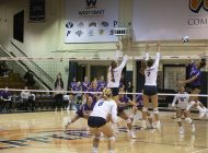 Women's Volleyball Sweeps Homestand