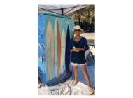 Alumna Shannon Celia Paints the 'Pretty with the Gritty' on Malibu Utility Box