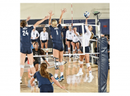 Women's Volleyball Falls to BYU