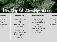 SWAB Hosts Healthy Relationships Week