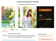 Pepperdine Honors Alaina Housley with Memorial Scholarship