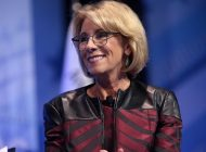 School of Public Policy Hosts Secretary of Education Betsy Devos