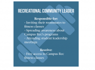 Campus Recreation Offers Free Classes to Promote Programs
