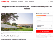 "Dean's Office Announces ""Credit/No Credit"" Option for Students"