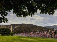 Pepperdine Erects 'Waves of Flags' Memorial on Alumni
