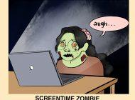 The 'Bu Yorker: Screentime Zombie