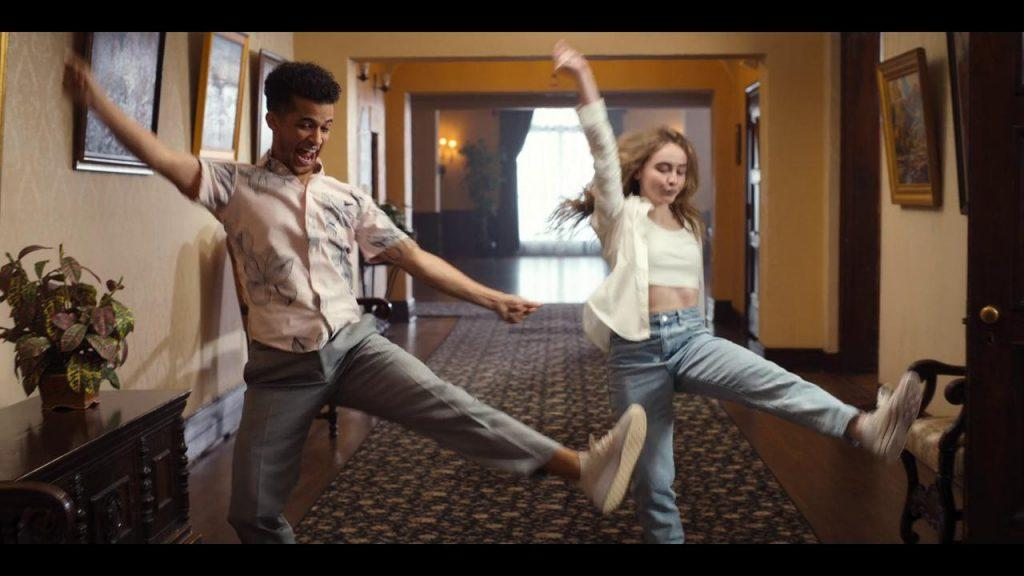Jake Taylor and Quinn dance together as if they are both professionals. As soon as Quinn found the core spirit of dancing, she told Jake she thought she was ready for the competition.