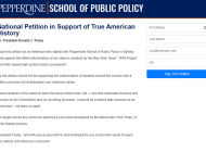 School of Public Policy Dean Shares Petition Against 'Far Left Indoctrinating' Curriculum