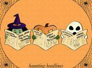 The 'Bu Yorker: HAUNTING HEADLINES