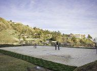 New beach volleyball courts on Pepperdine's Campus