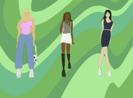 Students Put Their Spin on Spring 2021 Style Trends