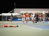 Women's Tennis Upsets UCLA, Reaches First Final Four