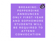 Administration Restructures Convocation as Seaver 200, Reduces Requirements