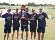 Title Waves: Men's Golf Wins Second National Championship