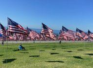 Remembering the 20th Anniversary of 9/11 with the Waves of Flags Display