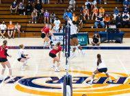 Women's Indoor Volleyball Defeats Rival LMU in Dramatic Fashion